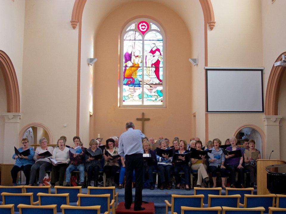 011 Rehearsal In Georgetown Methodist Church