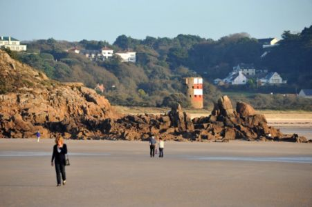 051 The Beach At St Brelade